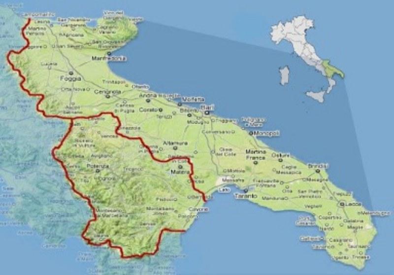 Mappa Puglia E Basilicata.8 Luoghi Da Visitare In Puglia E Basilicata Da Non Perdere 16pagine